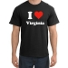 I Heart Virginia T-shirt - I Love Virginia Tee